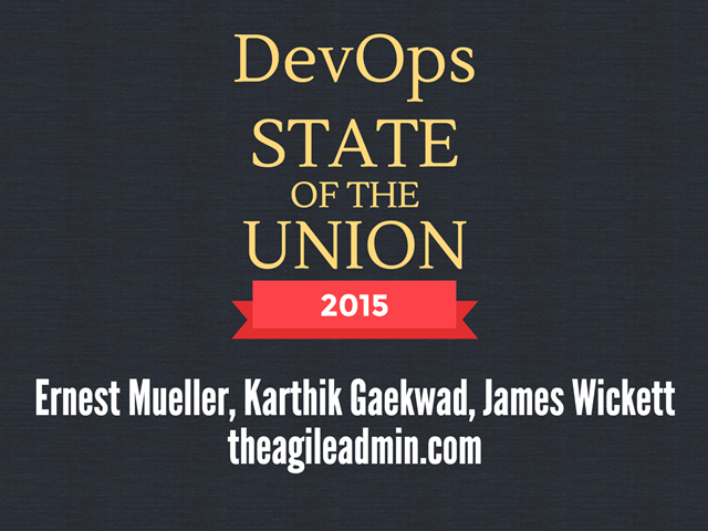 DevOps State of the Union 2015