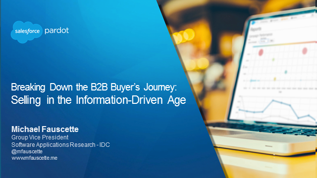 Breaking Down the B2B Buyer's Journey: Selling in the Information-Driven Age
