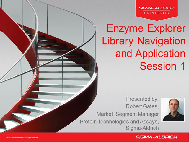 Enzyme Explorer Library Navigation and Application Session 1
