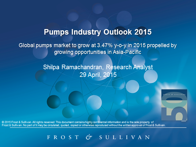 2015 Global Pumps Industry Outlook