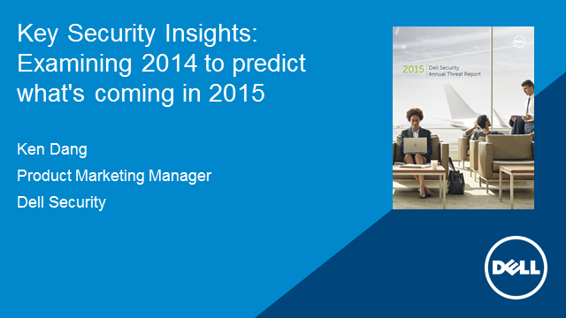 Key Security Insights: Examining 2014 to predict what's coming in 2015