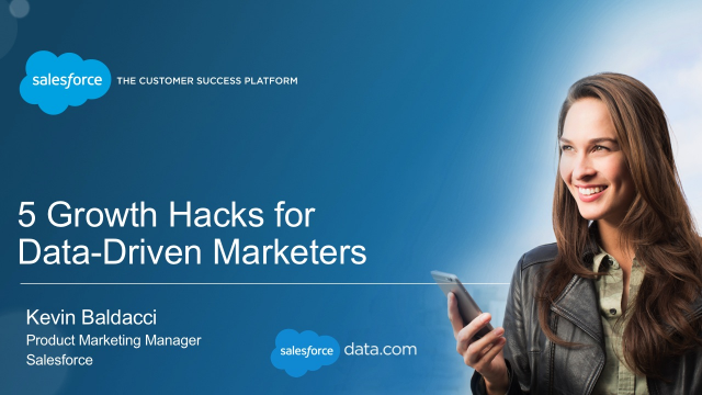 5 Growth Hacks for Data-Driven Marketers