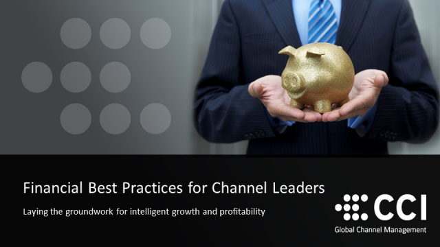 Financial Best Practices for Channel Leaders