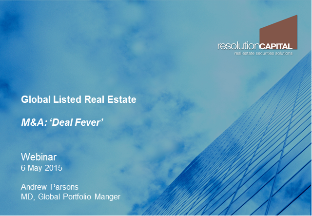 Global Listed Property: M&A – Deal fever