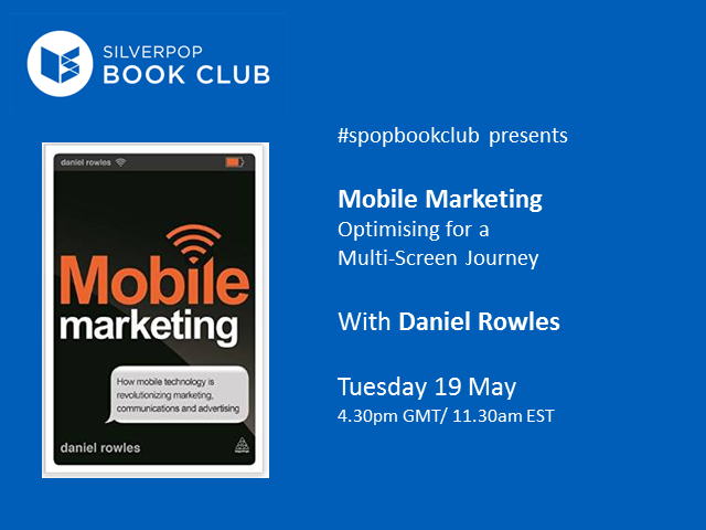 #spopbookclub presents Mobile Marketing