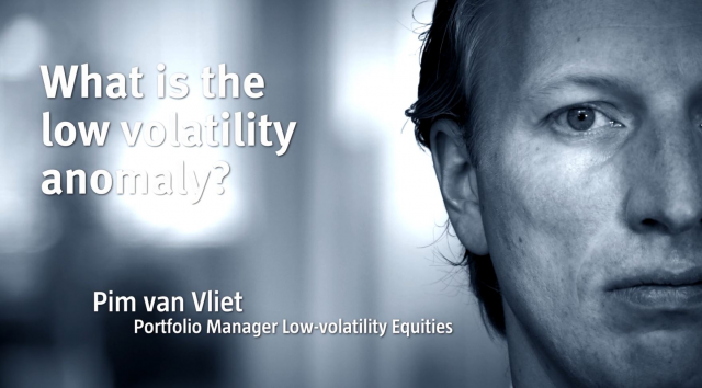What is the low volatility anomaly?