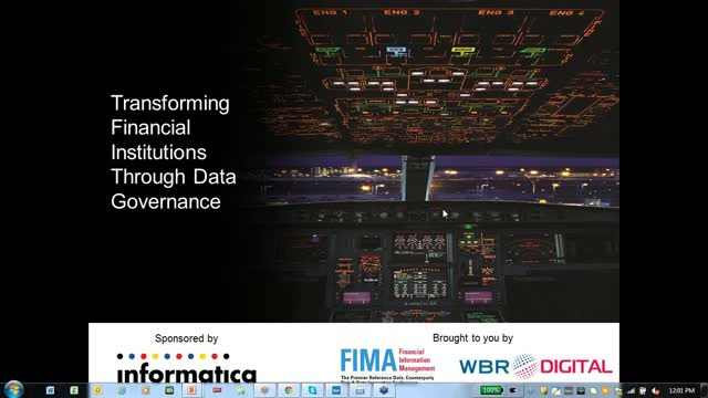 Transforming Financial Institutions through Data Governance