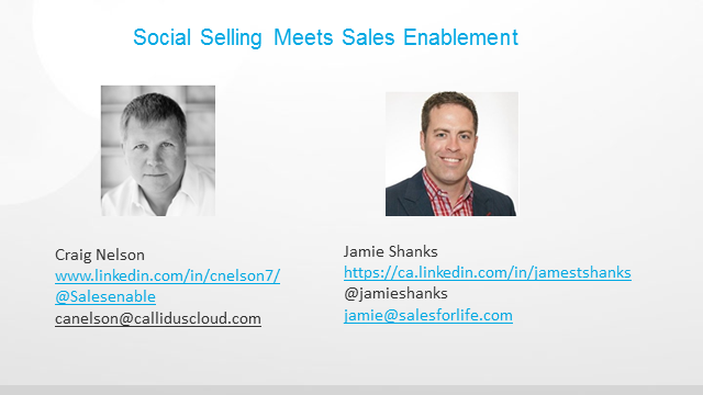 Social Selling meets Sales Enablement