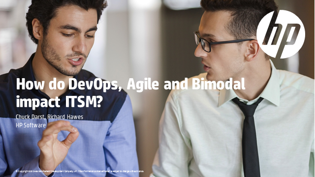 How do DevOps, Agile and bimodal IT impact ITSM?