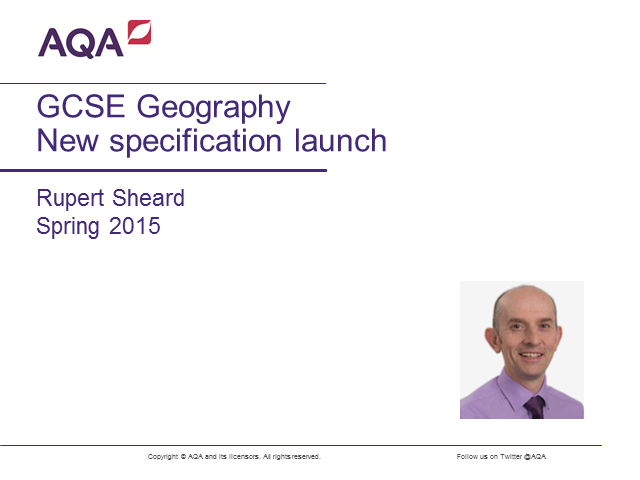 GCSE Geography - the new specification explained