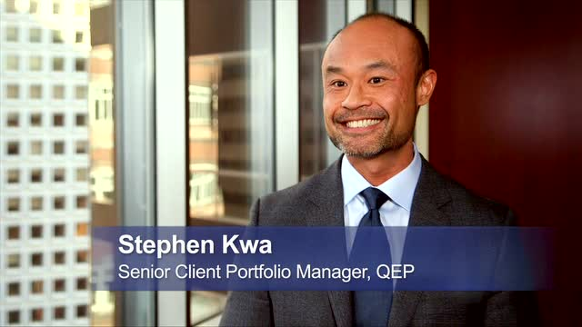 60 Seconds with Stephen Kwa: Smart Beta