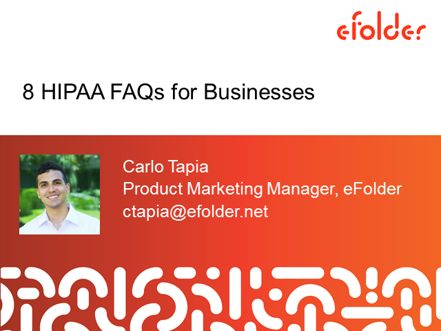 8 HIPAA FAQs for Businesses