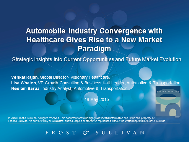 Automobile Industry Convergence with Healthcare