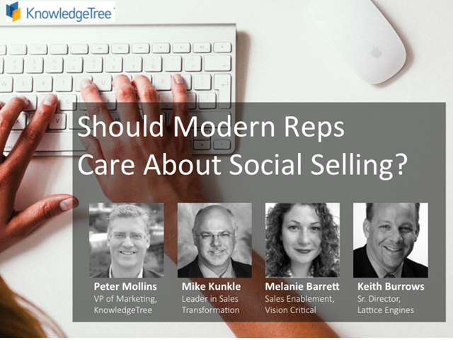 Panel: Should Modern Reps Care About Social Selling?