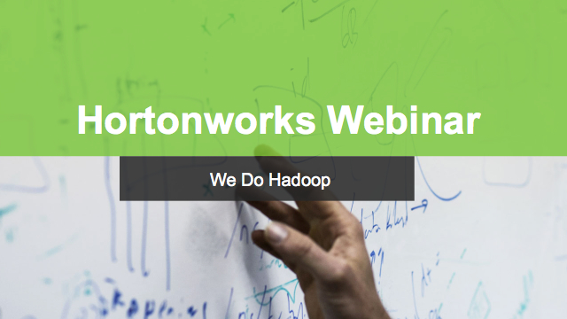 Hortonworks Technical Workshop: Operations with Apache Ambari