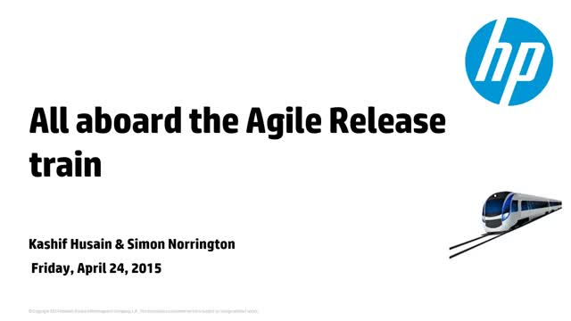 All Aboard the Agile Release Train