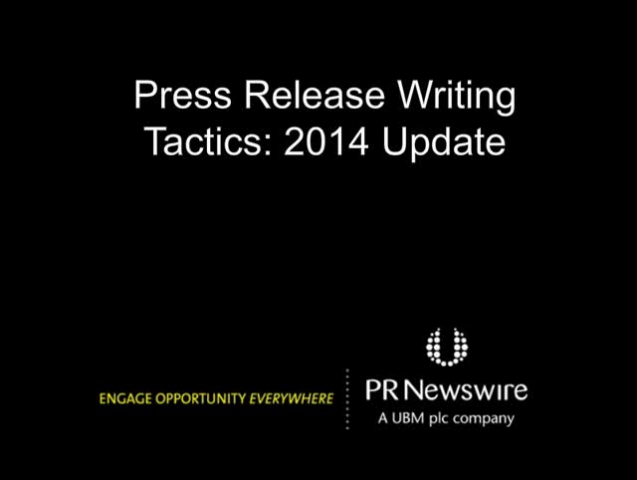 Tactics for Maximizing the Results of Your Press Releases