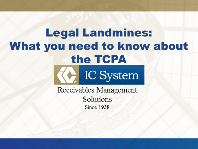 Legal Landmines: What You Need to Know About the TCPA