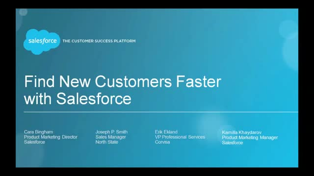 Find New Customers Faster with Salesforce