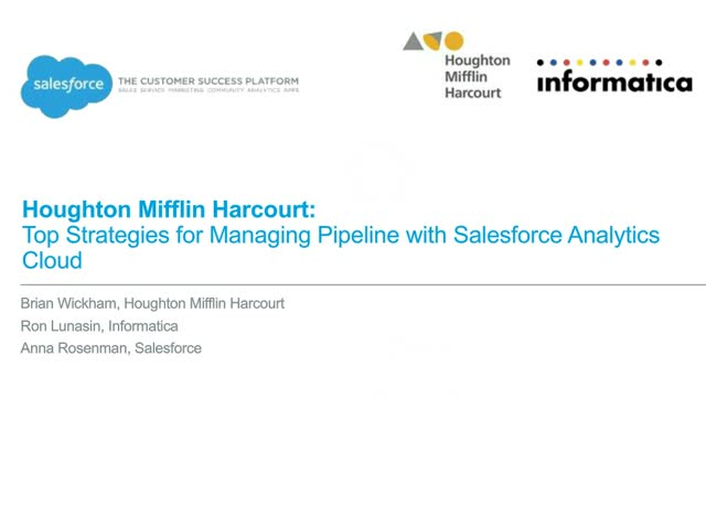 Top Strategies for Managing Pipeline with Salesforce Analytics Cloud