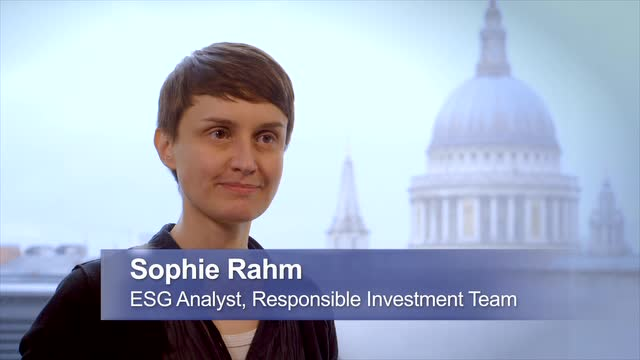 60 Seconds with Sophie Rahm : Green shipping