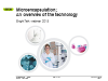 Microencapsulation - an overview of the technology