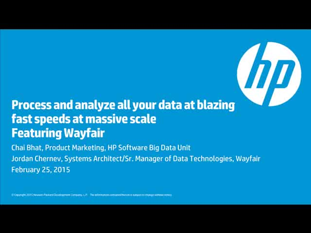 Process and analyze all your data at blazing fast speeds and massive scale