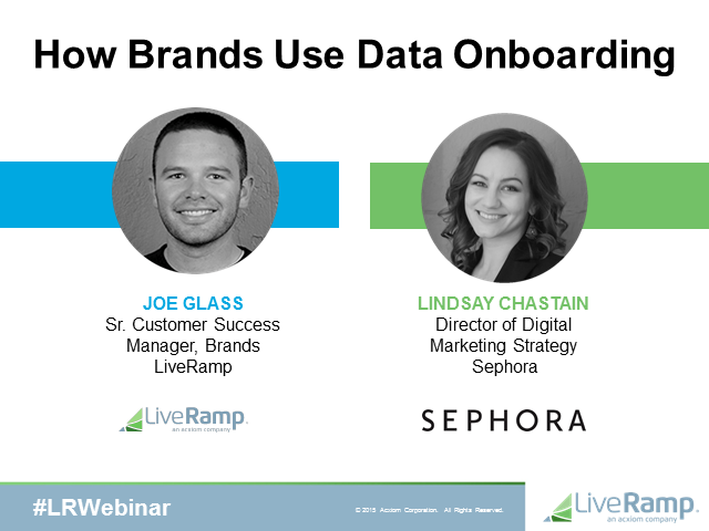 How Brands Use Data Onboarding
