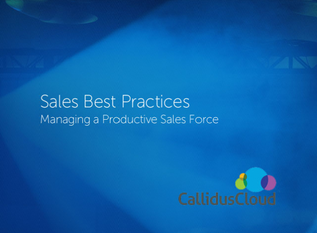 Down with Spreadsheets: Modernizing your Sales Productivity