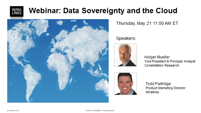 Data Sovereignty and the Cloud