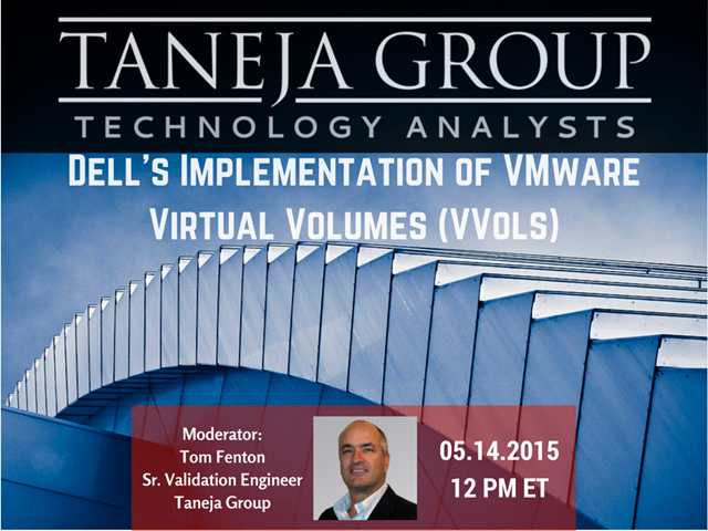 Dell's Implementation of VMware Virtual Volumes (VVols)