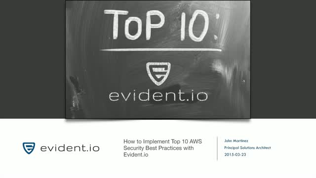 How to Implement Top 10 AWS Security Best Practices