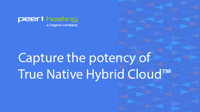 Capture the potency of True Native Hybrid Cloud™