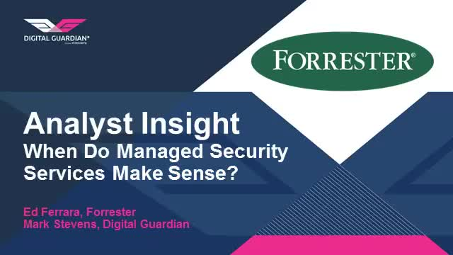 When Do Managed Security Services Make Sense?