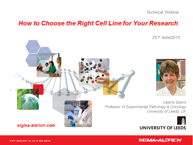 How to Choose the Right Cell Line for Your Research (EMEA)
