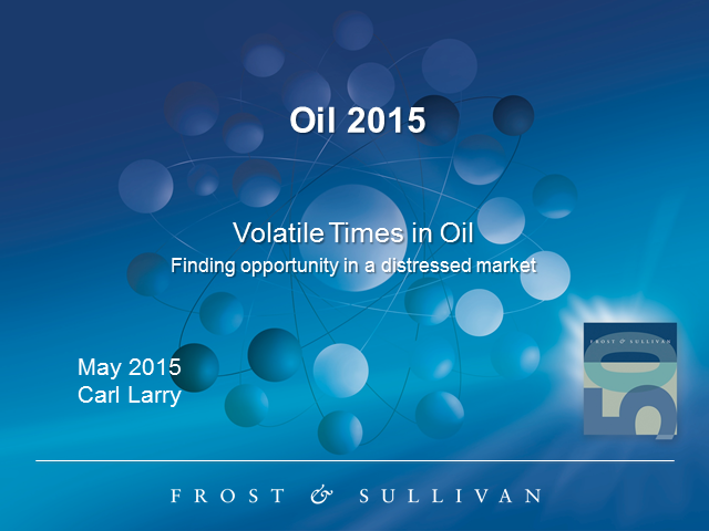 Volatile Times in Oil: Finding Opportunities in a Distressed Market