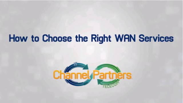 How to Choose the Right WAN Services