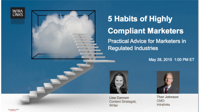 5 Habits of Highly Compliant Marketers: