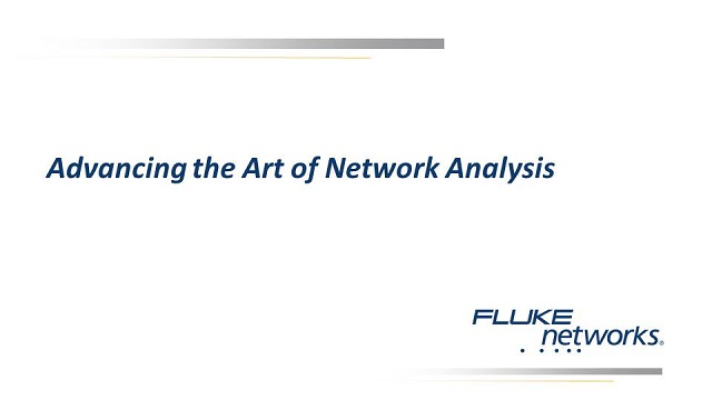 Advancing the Art of Network Analysis
