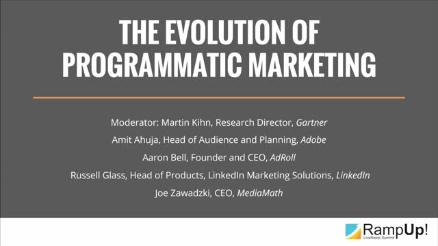 The Evolution of Programmatic Marketing