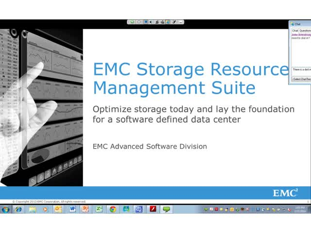EMC Tech Talk: ViPR SRM—Application to Infrastructure Mapping