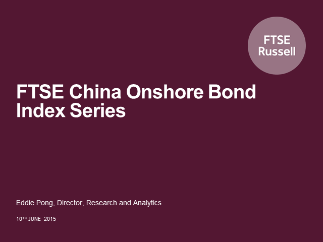 Measuring the China Onshore Bond Market