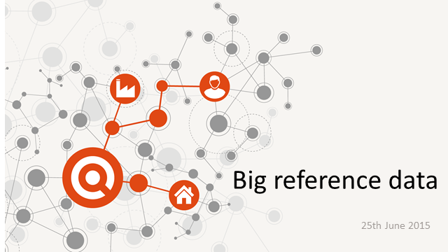 Big Reference Data: challenges and opportunities in exploiting large data sets