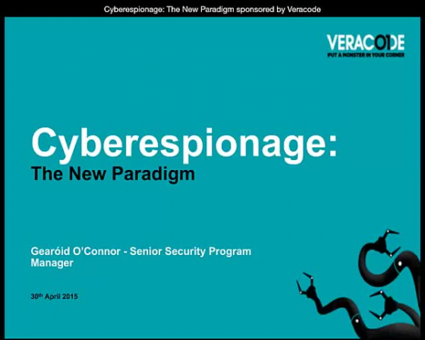 Cyberespionage: The New Paradigm