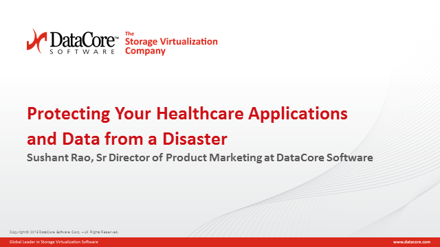 Protecting Your Healthcare Applications and Data