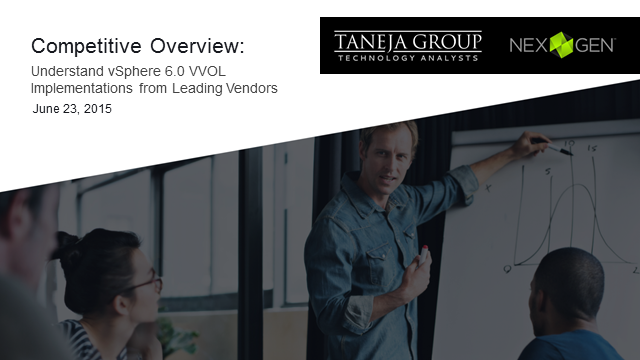 Understand vSphere 6.0 VVOL Implementations from Leading Vendors