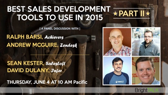 Best Sales Development Tools to Use in 2015 - Part 2