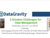 3 Greatest Challenges for Data Management: IT Director's Perspective