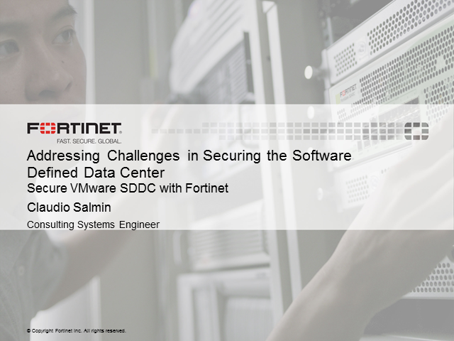 Addressing Challenges in Securing the Software Defined Data Center