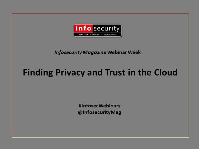 Finding Privacy and Trust in the Cloud